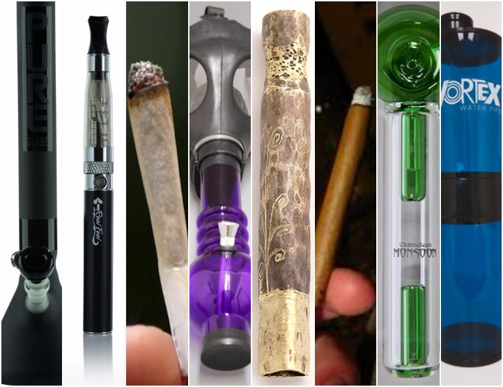 8 different ways to smoke weed