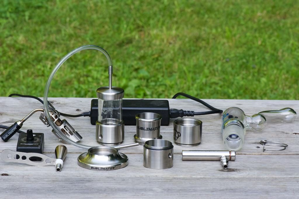 sublimator vaporizer parts