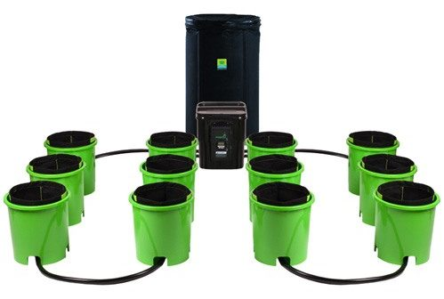 Oxygen Pot Systems 6 Bucket XL Ebb and Flow Hydroponic System