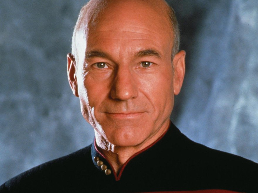 Capt. Jean-Luc Picard in the Star Trek: The Next Generation